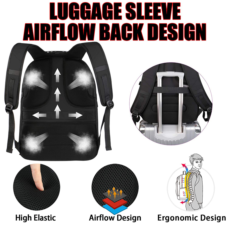 nylon fabric Laptop Backpack
