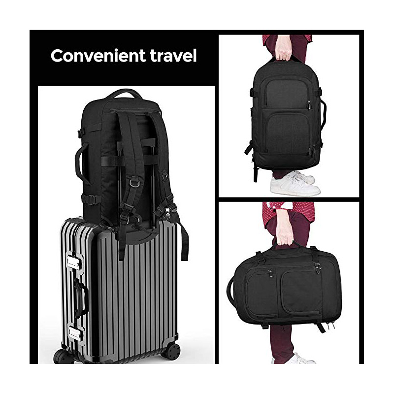 Luggage trolley straps provides easy travel