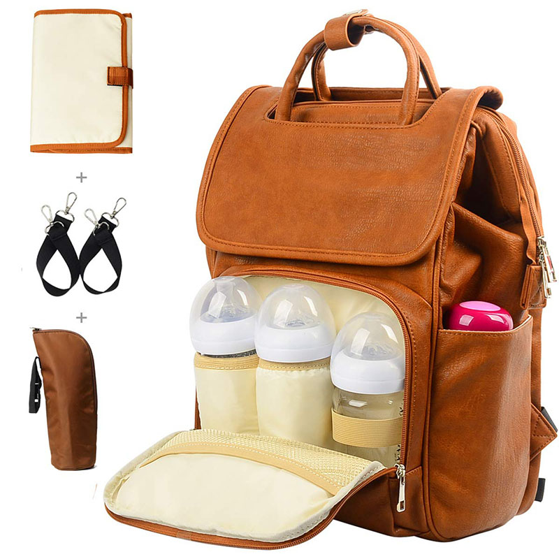 Fashion Nappy Backpack Large Capacity-
