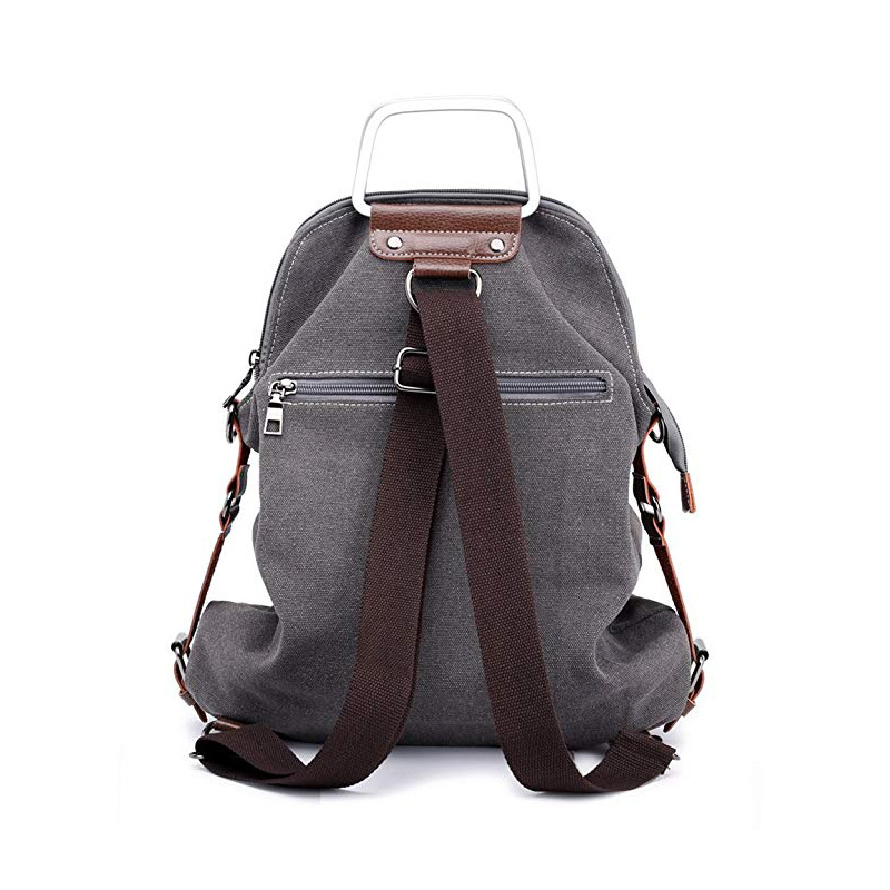 Vintage Canvas Laptop Backpack School Backpack
