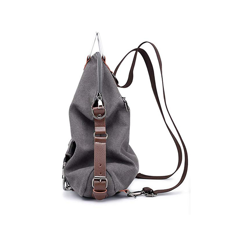 Convertible Backpack Purse Canvas Bag