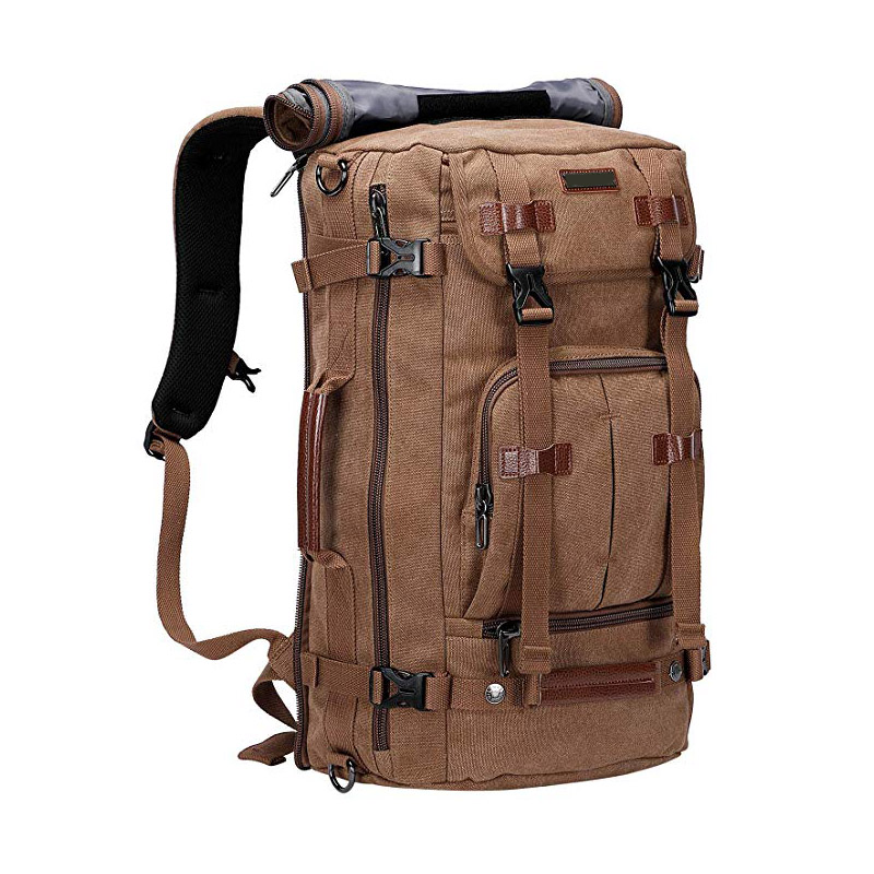 Multi-functional Design Canvas Backpack