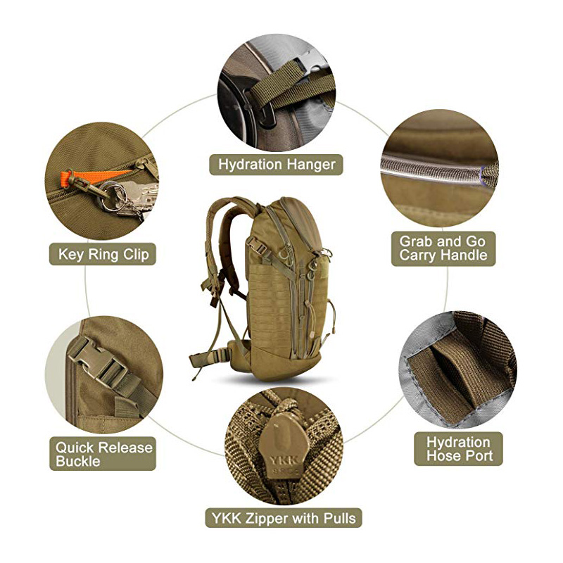 Rugged and Reliable Military Backpack