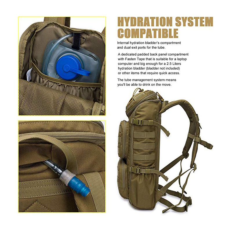 Tactical Backpack with Hydration Compartment