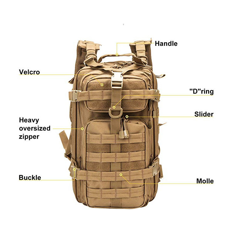 Tactical Backpack with Stylish design