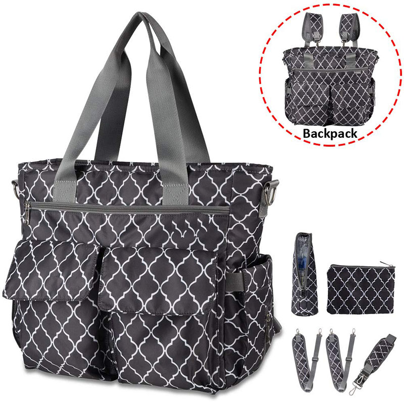 Large Organized Diaper Bag Backpack