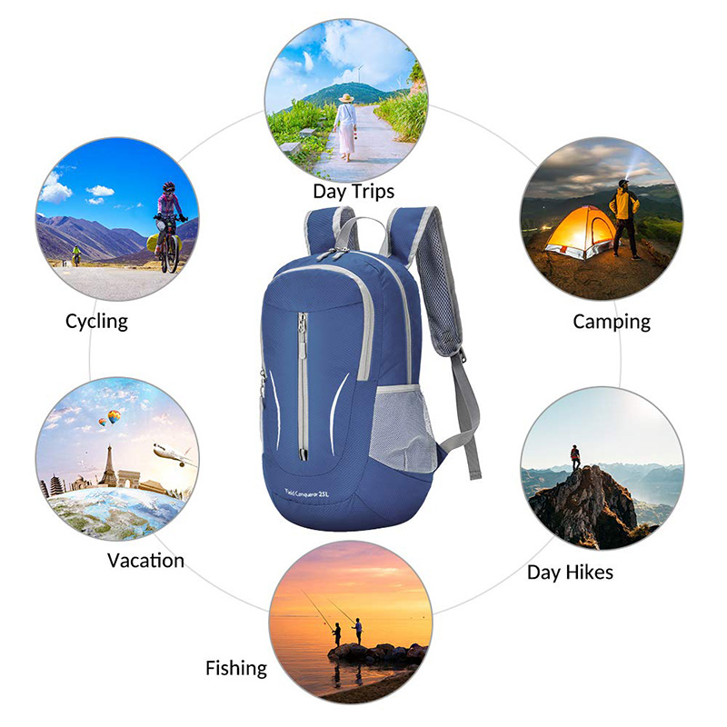Foldable Lightweight Hiking Daypack Bag
