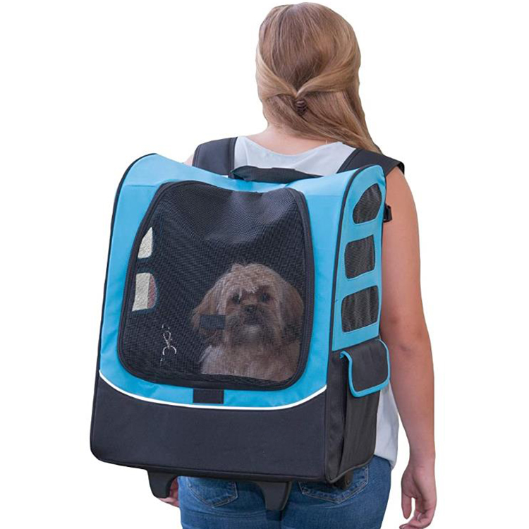 Soft Pet Travel Trolley Handbag
