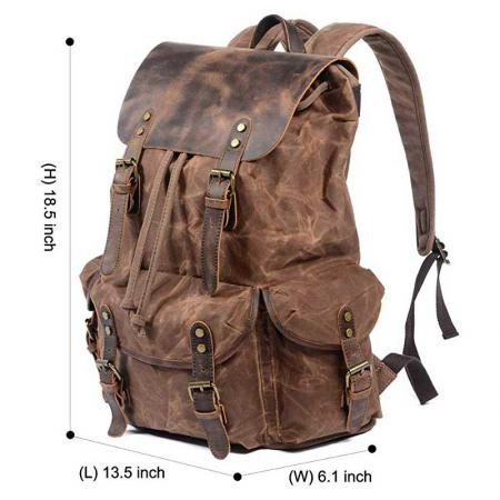 High Quality Travel Canvas Backpack