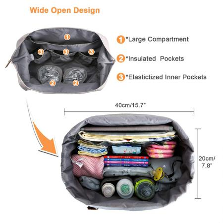 Customized Tote Diaper Bag