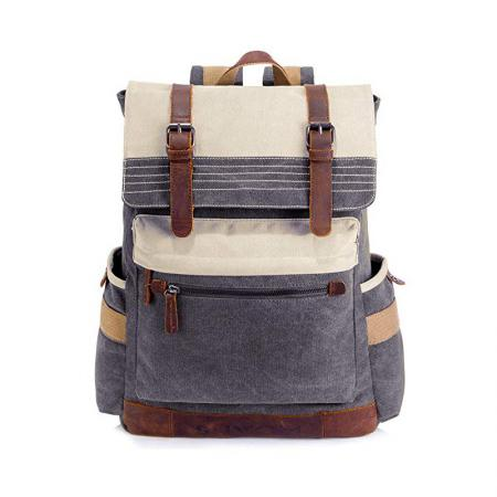 Stylish Canvas School Backpack