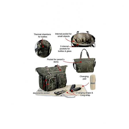 Tactical Diaper Bag for Mom