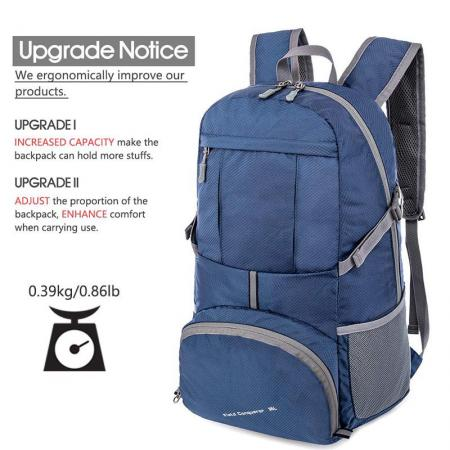 Short Travel Hiking Backpack