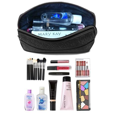 makeup brush organizer bag