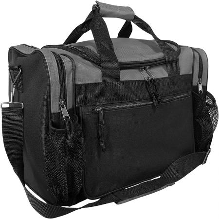 drop bottom duffel